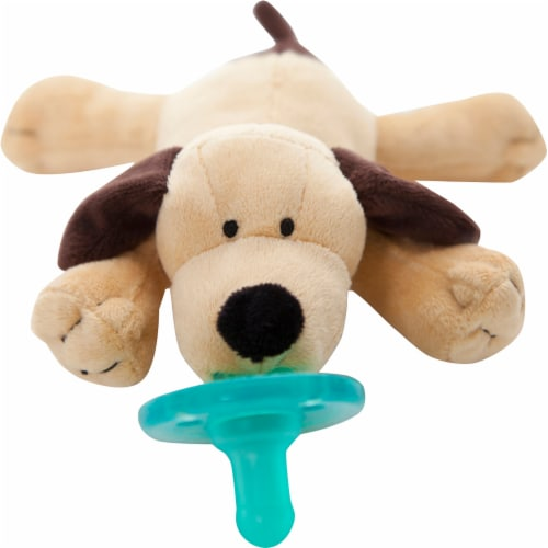WubbaNub Puppy Infant Pacifier Perspective: top