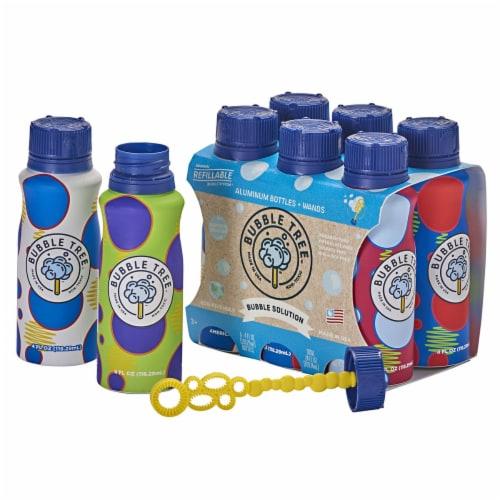 Bubble Tree Aluminum Bubble Bottle Multi-Packs - 12 Refillable Bottles Perspective: top