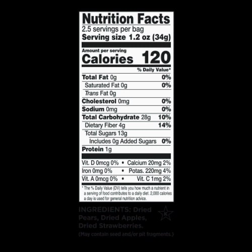 RIND Snacks Dried Fruit Variety Pack, 3oz Bags, 6 Bags Total Perspective: top