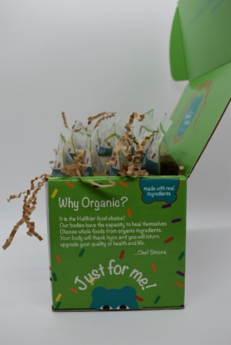 Organic Couture Treats for kids Perspective: top