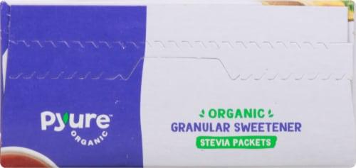 Pyure Organic Stevia Granular Sweetener Packets Perspective: top