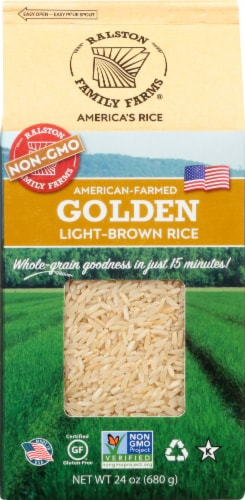 Ralston Family Farms Golden Light-Brown Rice Perspective: top