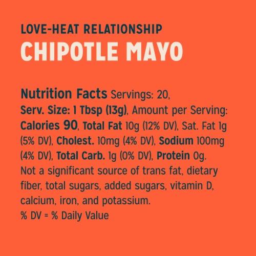 Sir Kensington's Chipotle Mayonnaise Perspective: top
