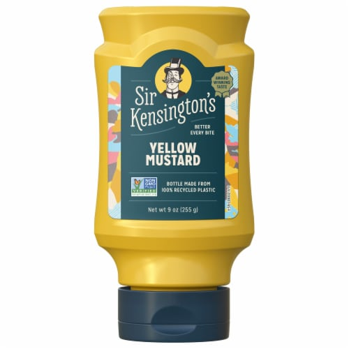 Sir Kensington's Yellow Mustard Perspective: top