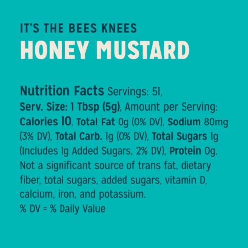 Sir Kensington's Paleo Honey Mustard Gluten-Free Condiment Perspective: top