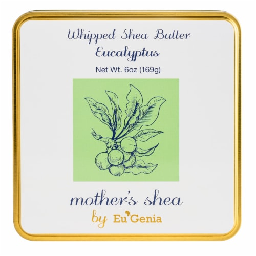 Eucalyptus Scented Whipped Butter Perspective: top