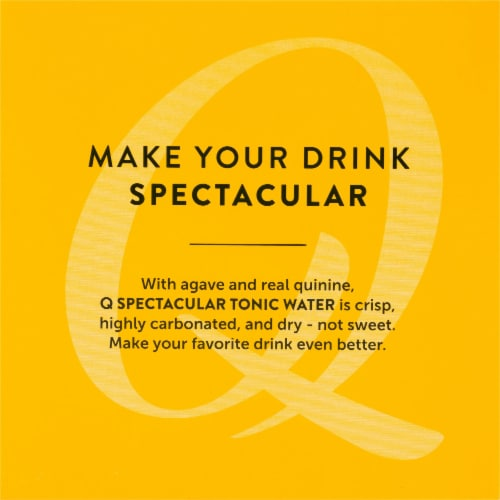 Q Tonic Water Perspective: top