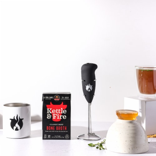 Kettle & Fire Classic Beef Bone Broth Perspective: top