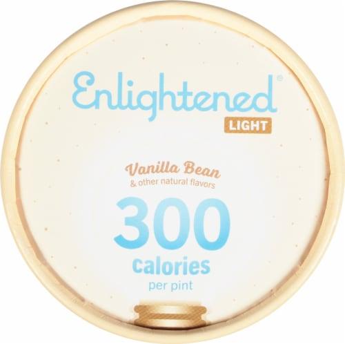 Enlightened® Vanilla Bean Light Ice Cream Perspective: top