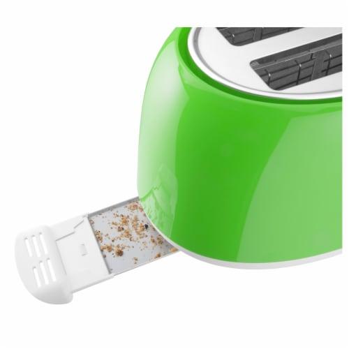 Sencor 2-Slot Toaster - Green Perspective: top