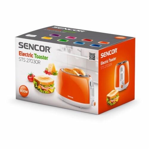 Sencor 2-Slot Toaster - Orange Perspective: top