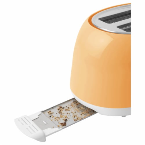 Sencor 2-Slot Toaster - Peach Orange Perspective: top