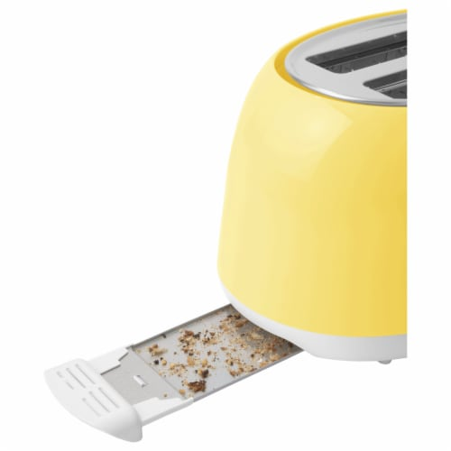 Sencor 2-Slot Toaster - Sunflower Yellow Perspective: top
