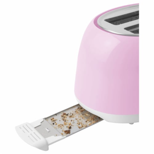 Sencor 2-Slot Toaster - Cherry Blossom Pink Perspective: top
