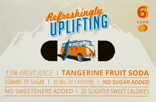 Tangerine Wave Soda Perspective: top