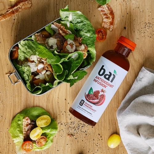 Bai Ipanema Pomegranate Antioxidant Infused Beverage Perspective: top