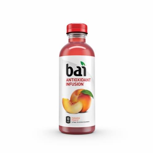 Bai Panama Peach Antioxidant Infused Beverage Perspective: top