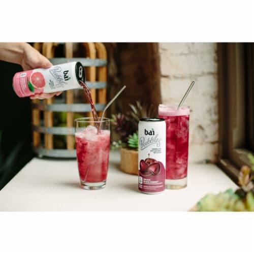 Bai Bubbles Bolivia Black Cherry Sparkling Beverage Perspective: top