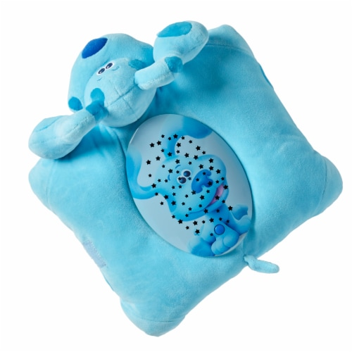 Pillow Pets Nickelodeon Blue's Clues Blue Sleeptime Lite Plush Toy Perspective: top