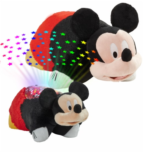 Pillow Pets Mickey Mouse Pillow & Sleeptime Lite Plush Slumber Pack Perspective: top