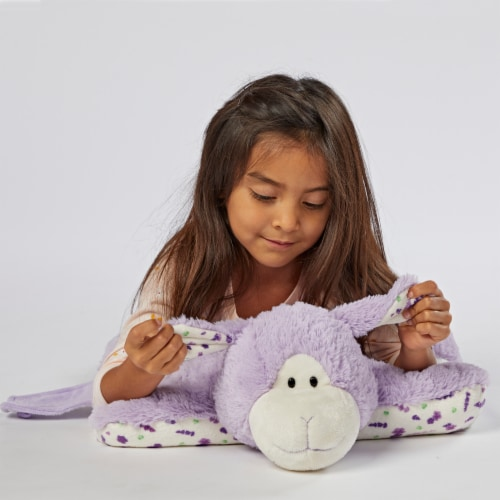 Pillow Pets Sweet Lavender Scented Lamb Plush Toy Perspective: top