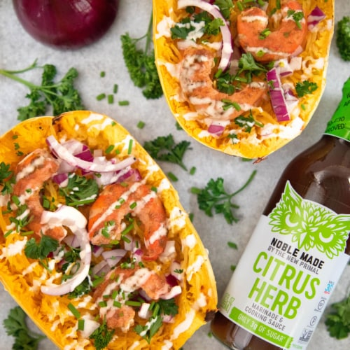 The New Primal Citrus and Herb Marinade and Cooking Sauce Perspective: top