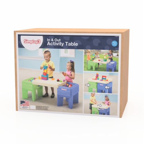 Simplay3 In & Out Activity Table Perspective: top