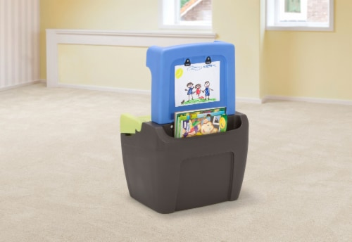 Simplay3 Toy Box Easel Perspective: top