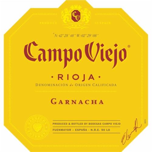 Campo Viejo Rioja Garnacha Red Wine Perspective: top