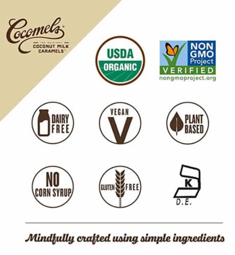 Cocomels Original Coconut Milk Caramels Perspective: top