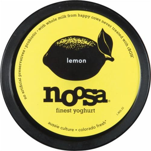 Noosa Lemon Yogurt Perspective: top