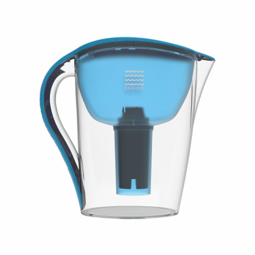 Drinkpod Ultra Premium Alkaline Water Pitcher 3.5L Capacity Includes 3 Filters Perspective: top