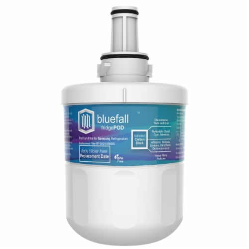 Samsung DA29-00003G Refrigerator Water Filter Compatible by BlueFall Perspective: top