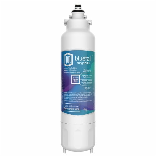 LG LT800P 10PK Refrigerator Water Filter Compatible by BlueFall Perspective: top
