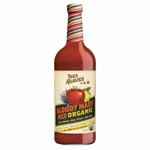 Tres Agaves Organic Bloody Mary Mix Perspective: top