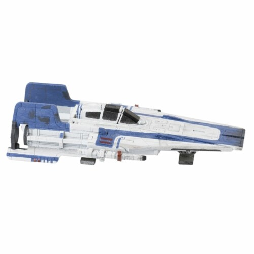 IncrediBuilds Star Wars: The Last Jedi: A-Wing Book and 3D Wood Model Figure Kit Perspective: top