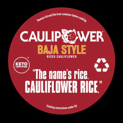 Caulipower Baja Style Riced Cauliflower Cup Perspective: top
