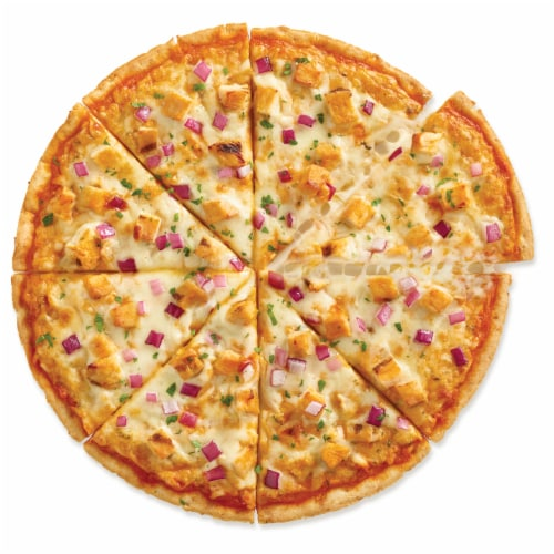 Caulipower Buffa-Whoa Cauliflower Crust Buffalo-Style Chicken Pizza Perspective: top