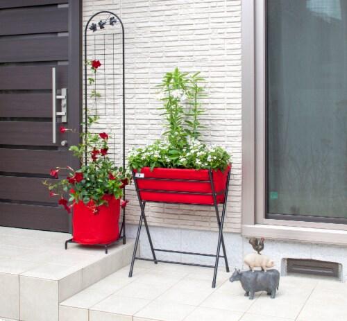 VegTrug Poppy Go! Raised Planter - Red Perspective: top