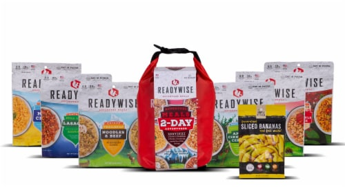 ReadyWise 2-Day Adventure Meals Perspective: top