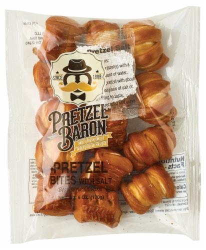 Pretzel Baron Pretzel Bites Perspective: top