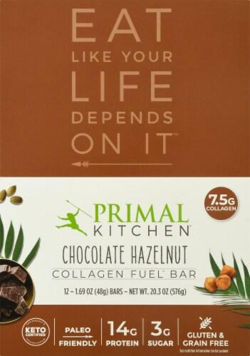 Primal Kitchen Chocolate Hazelnut Collagen Bar Perspective: top