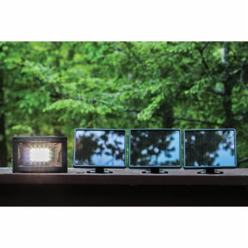 MAXSA Innovations 40331 Solar-Powered Ultrabright Flood Light Perspective: top
