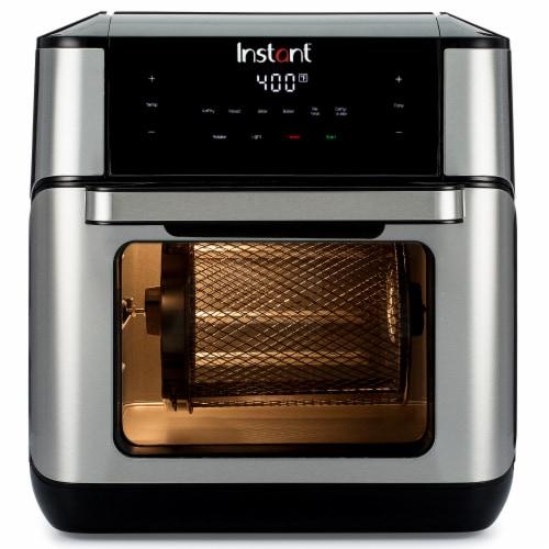 Instant Brands Vortex Plus Air Fryer Oven - Black/Silver Perspective: top