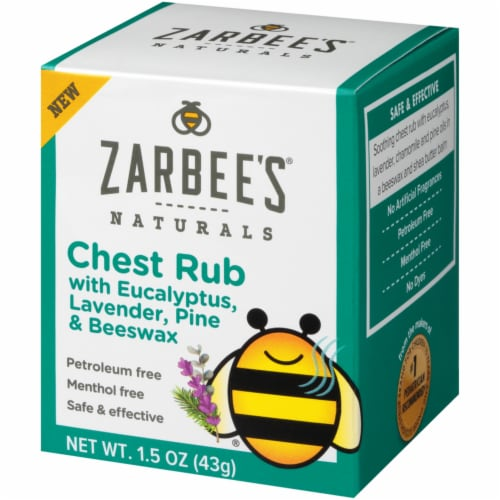 Zarbee's Naturals Chest Rub Perspective: top