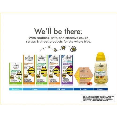 Zarbee's Baby Cough and Immune Elderberry Flavor Liquid Supplement Perspective: top