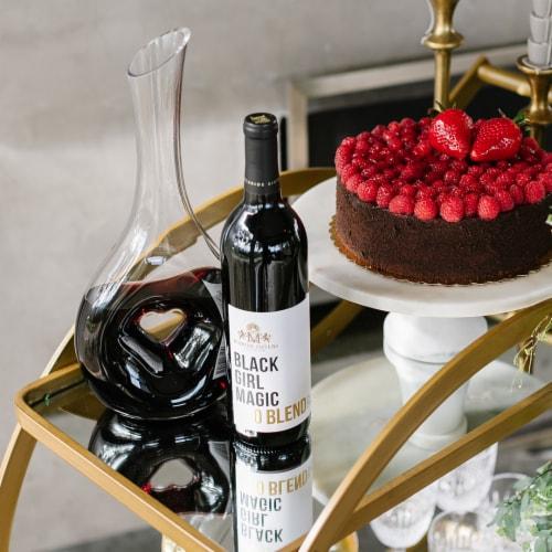 McBride Sisters Wine Black Girl Magic Red Blend Wine Perspective: top