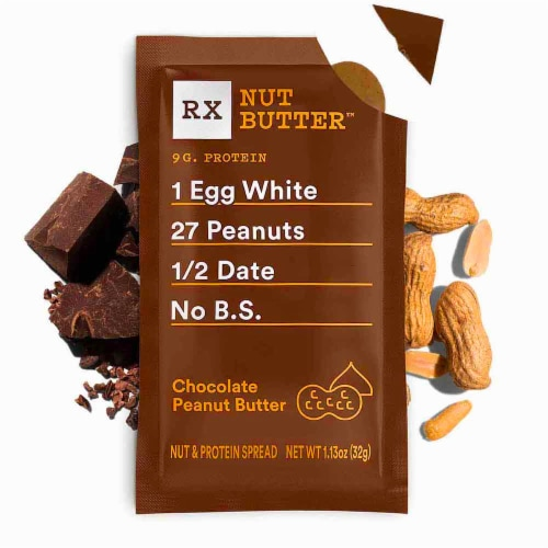RXBAR Chocolate Peanut Butter Nut & Protein Spread Perspective: top