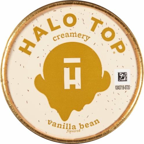 Halo Top® Vanilla Bean Light Ice Cream Perspective: top