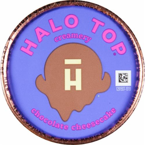 Halo Top® Keto Chocolate Cheesecake Ice Cream Perspective: top